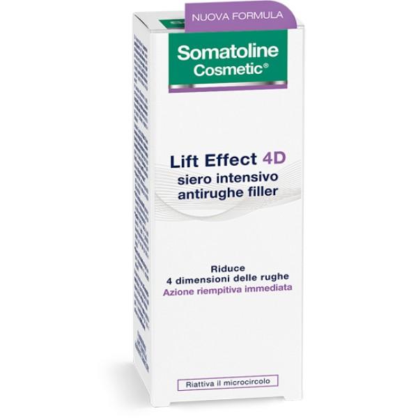 Somatoline Cosmetic Lift Effect 4D Siero Intensivo Antirughe Filler 30 ml