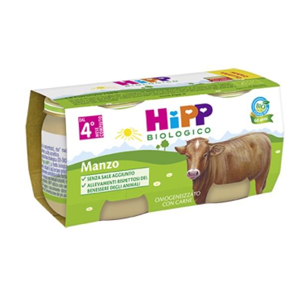 Hipp Bio Omogeneizzato Manzo 2 x 80 grammi