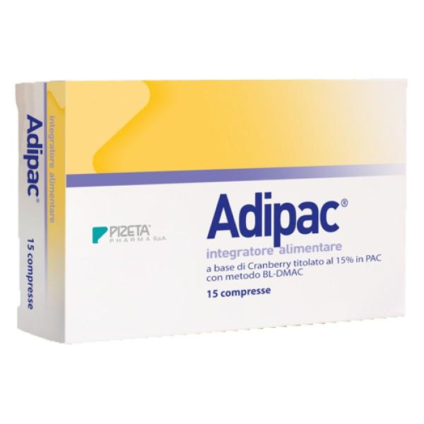 Adipac 15 Compresse - Integratore Drenante