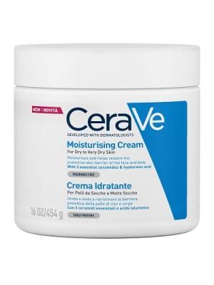CeraVe Crema Idratante Viso e Corpo Pelle Secca a Molto Secca 454 grammi