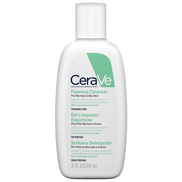 CeraVe Schiuma Detergente Viso per Pelli Grasse 88 ml