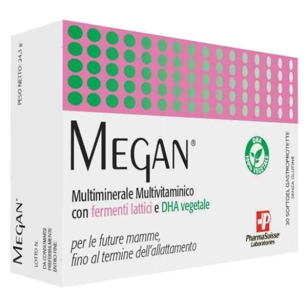 Megan 30 Softgel - Integratore Alimentare