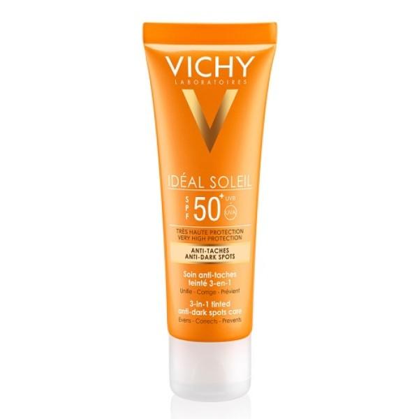 Vichy Ideal Soleil Crema Viso Anti Macchia SPF 50+ 50 ml