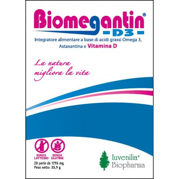 BIOMEGANTIN D3  20 Perle