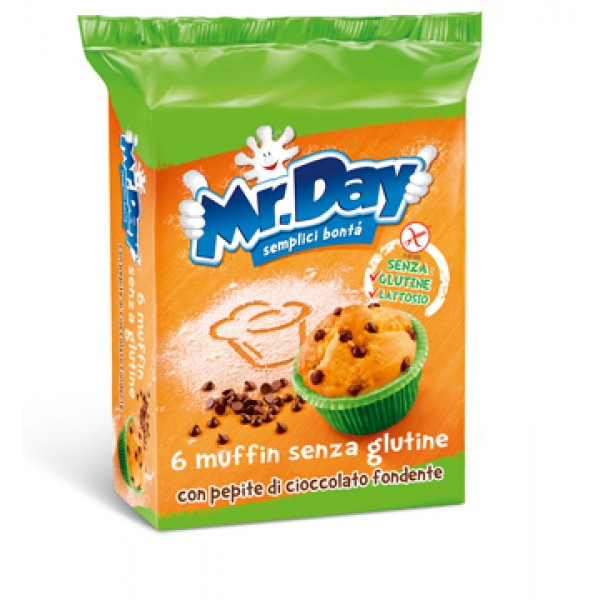 MR DAY Muffin Ciocc.6x42g