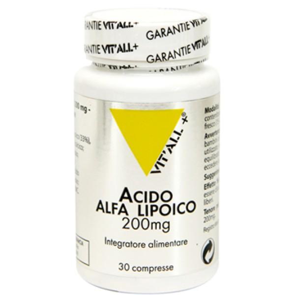 Acido Alfa Lipoico 30 Compresse - Integratore Alimentare