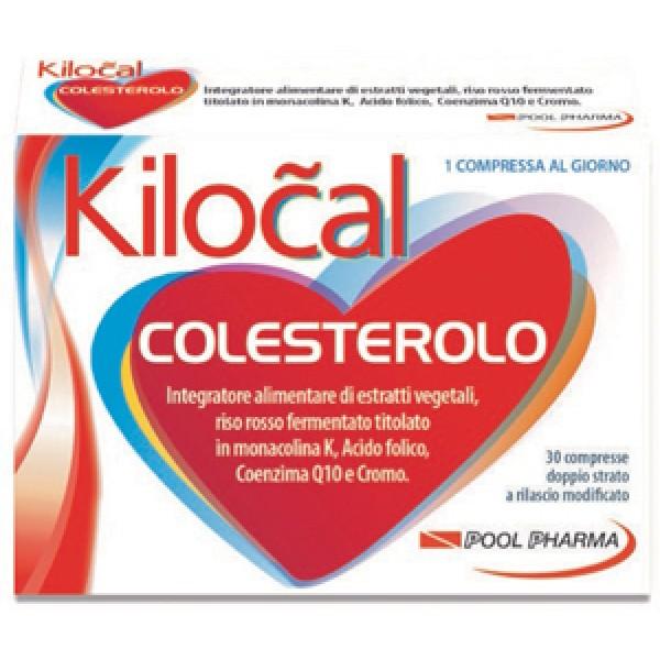 Kilocal Colesterolo Integratore Controllo dei Lipidi 30 Compresse