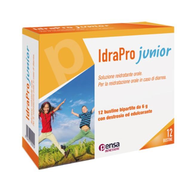 Idrapro Junior 12 Bustine - Integratore Alimentare contro Diarrea