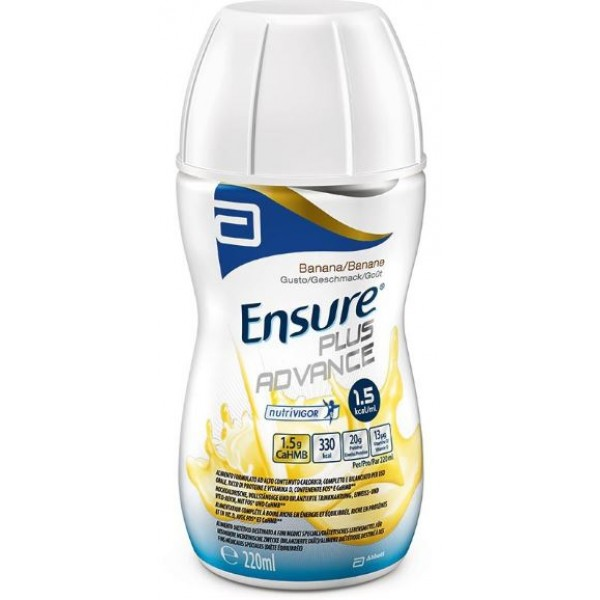 Ensure Plus Advance Gusto Banana 4 x 220 ml