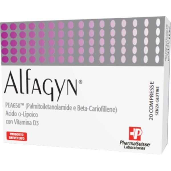 Alfagyn 20 Compresse - Integratore Alimentare