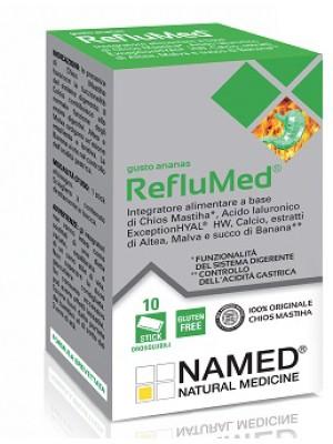 Named RefluMed Ananas Integratore Benessere Stomaco e Intestino 10 Stick