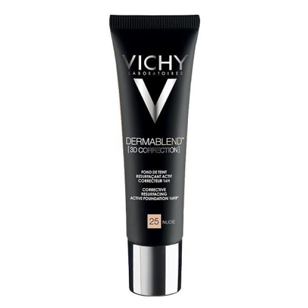 Vichy Dermablend 3D Fondotinta Correttore Nude 25 30 ml