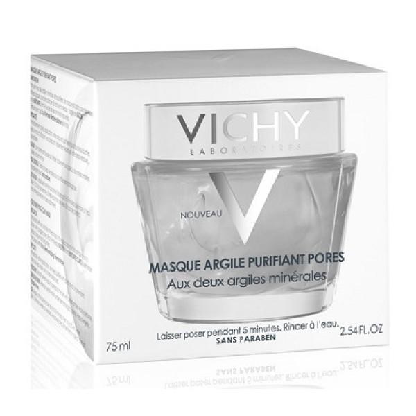 Vichy Maschera Minerale Argilla Purificante Pelle Mista e Grassa 75 ml