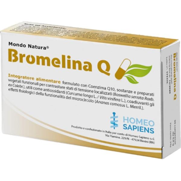 BROMELINA Q MONO NATURA 30Cpr