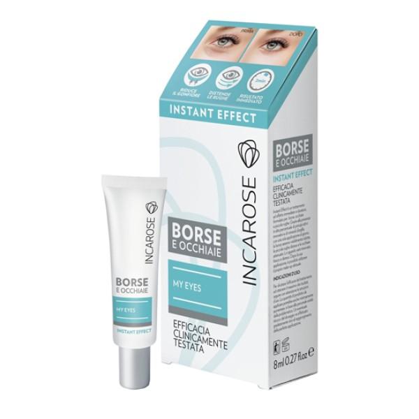 Incarose My Eyes Instant Effect per Borse e Occhiaie 8 ml