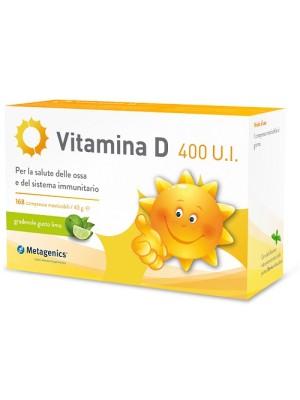 Metagenics Vitamina D 400UI 168 Capsule - Integratore Alimentare