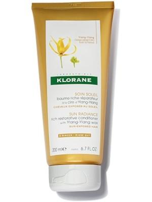Klorane Ylang-Ylang Balsamo in Crema per Capelli al Sole 200 ml