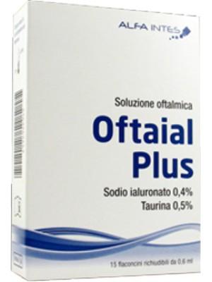 Oftaial Plus Soluzione Oftalmica 15 Flaconcini