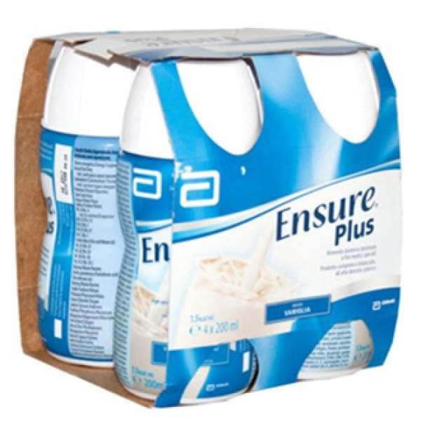 Ensure Plus Gusto Vaniglia 4 x 200 ml