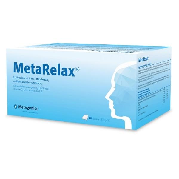 Metarelax 84 Bustine - Integratore Magnesio e Vitamine