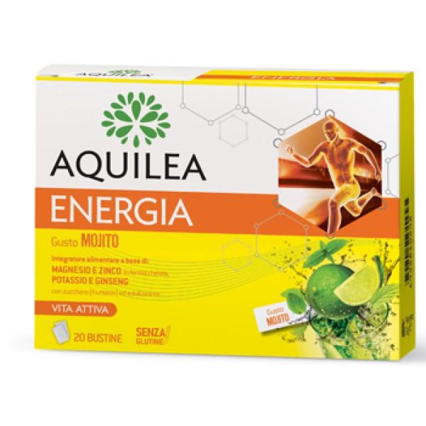 Aquilea Energia 20 Bustine - Gusto Mojito Integratore Sali Minerali
