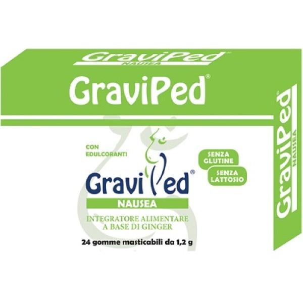 Graviped Nausea 24 Gomme Masticabili