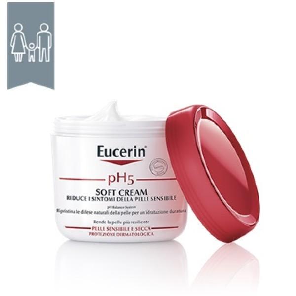Eucerin pH5 Soft Cream Crema Idratante Corpo 450ml