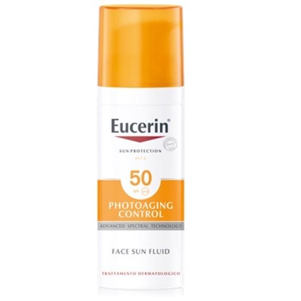 Eucerin Sun Crema Viso Anti Age SPF 50 50ml