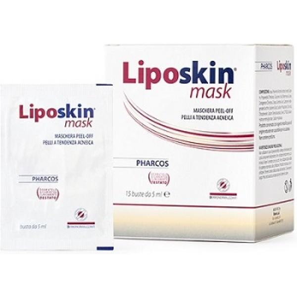 Pharcos Liposkin Mask 15 Bustine - Integratore Trattamento Acne