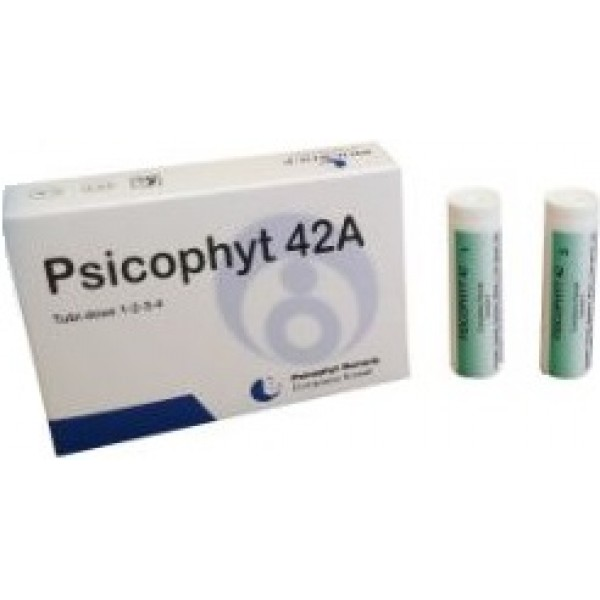 Psicophyt Remedy 42A 4 Tubi Globuli - Medicinale Omeopatico