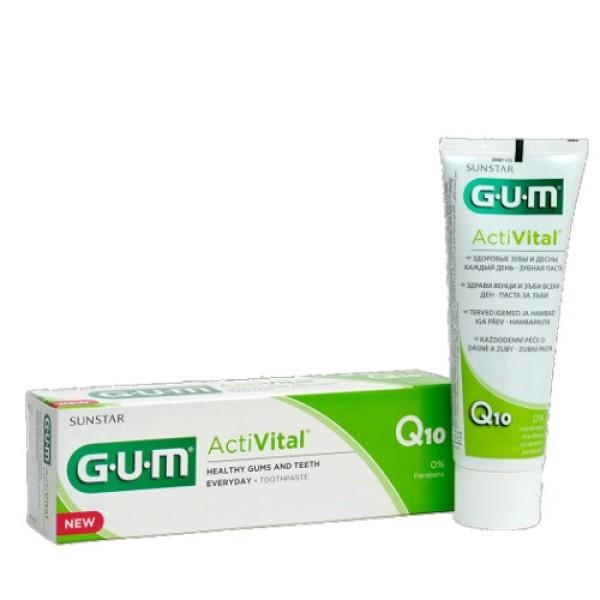 Gum Activital Dentifricio Rinforza Denti e Gengive 75 ml