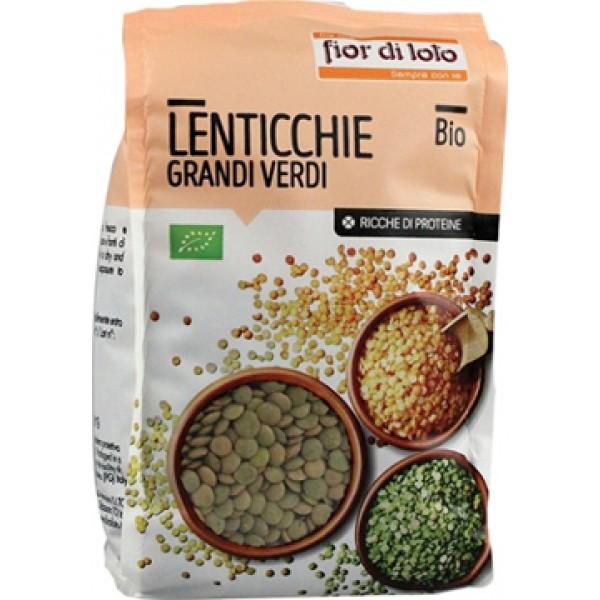 Fior di Loto Lenticchie Verdi Bio 400 grammi