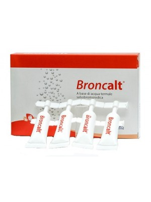 Broncalt Strip Soluzione Irrigazione 10 Flaconcini 5 ml