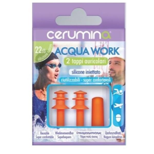Cerumina Acqua Work 2 Tappi Auricolari