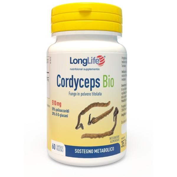 Longlife Cordyceps Bio 60 Capsule - Integratore Sostegno Metabolico