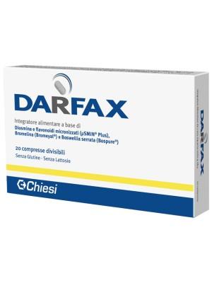 Darfax Integratore Drenante 20 Compresse Divisibili