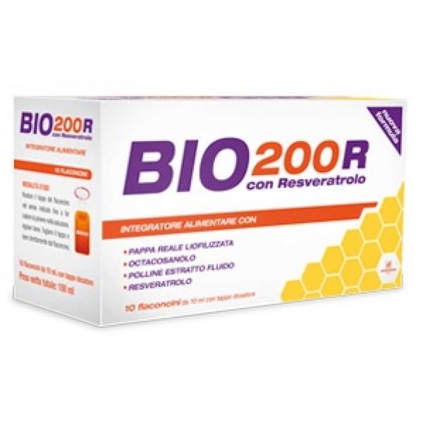 Bio 200R 10 Flaconcini - Integratore Naturare Pappa Reale