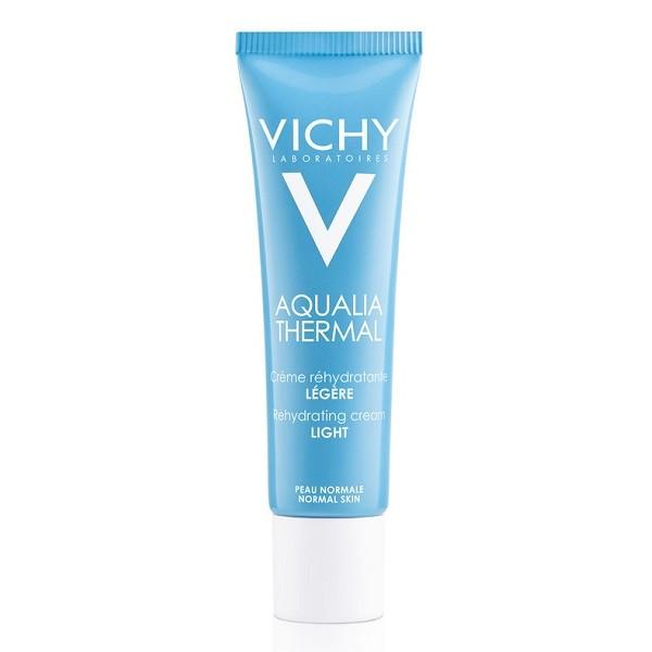 Vichy Aqualia Thermal Crema Leggera Reidratante Viso Tubo 30 ml
