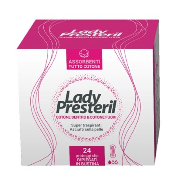 Lady Presteril Cotton Power Proteggi Slip Pocket 24 pezzi