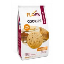 Mevalia Flavis Biscotti Cookies Aproteici con Cioccolato 200gr