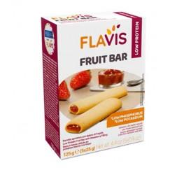 Mevalia Flavis Fruit Bar Barrette Aproteiche e senza Glutine Fragola 125gr