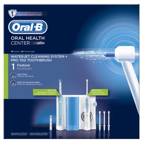 Oral-B Water OC16 Spazzolino Elettrico PC 1000 + Idropulsore MD 16