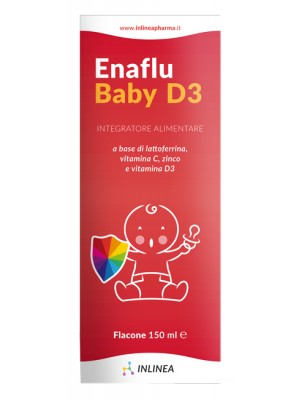 EnaFlu Baby D3 Sciroppo 150 ml - Integratore Alimentare