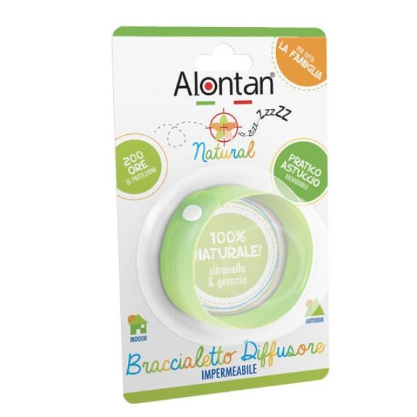 Alontan Braccialetto Antizanzare Naural Impermeabile