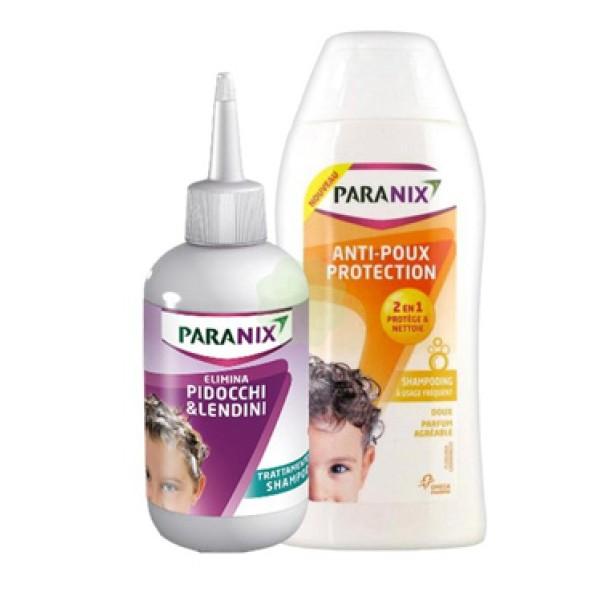 Paranix Trattamento Shampoo 200 ml + Shampoo Protection