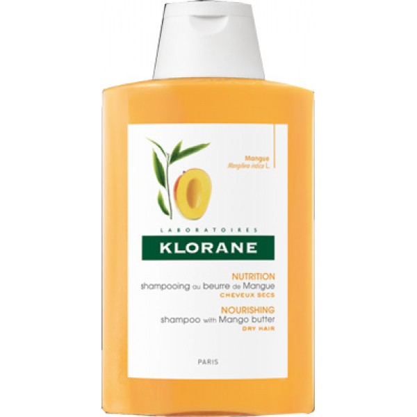Klorane Burro di Mango Shampoo Nutritivo Capelli Secchi 400 ml