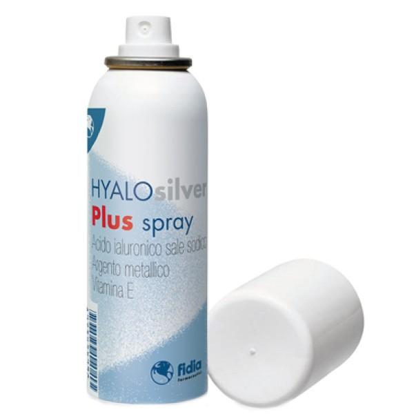 Hyalosilver Plus Spray con Acido Ialuronico per Lesioni Cutanee 125 ml