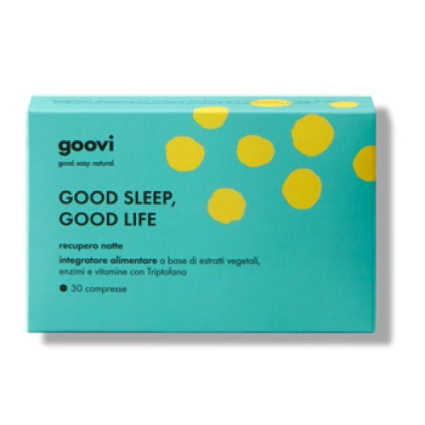 Goovi Recupero Notte Good Sleep Good Life 30cpr