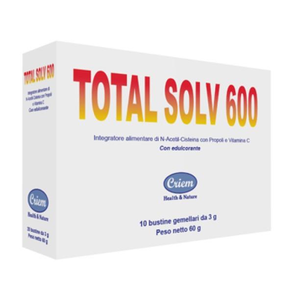 TOTAL SOLV*600 10 Bust.