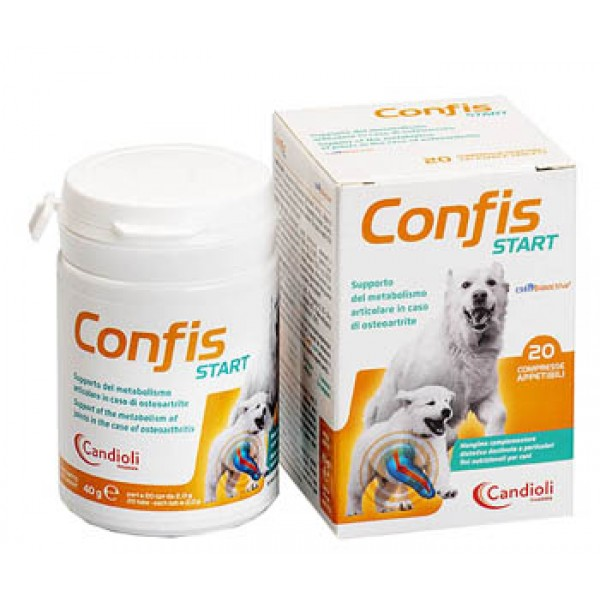 Confis Start Cani 20 Compresse - Supporto Metabolismo delle Articolazioni